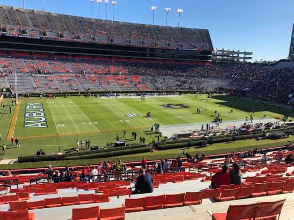 Jordan-Hare Stadium, section: 2, row: 50, seat: 19-20