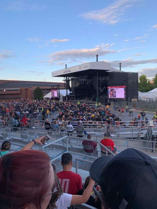 Grandstand at the Washington State Fair, section: 5, row: 4, seat: 5