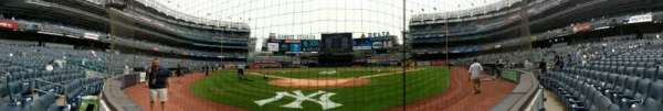Yankee Stadium, section: 020, row: 1, seat: 1