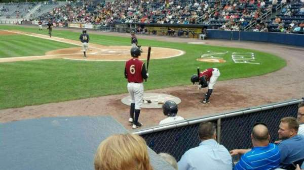PNC Field, section: 24, row: 3, seat: 9