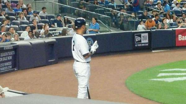 Yankee Stadium, section: 017a, row: 7, seat: 3