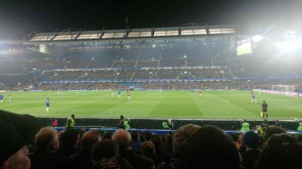 Stamford Bridge, section: West Stand Lower 2, row: 17, seat: 0051