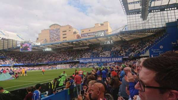 Stamford Bridge, section: West Stand Lower 6, row: 4, seat: 0135
