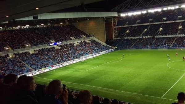 Ibrox Stadium, section: Sandy Jardine Rear, row: E, seat: 0113