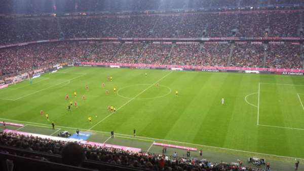 Allianz Arena, section: BWIN Box, row: Longe 36, seat: 1