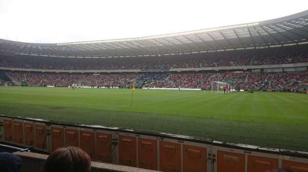 Murrayfield Stadium, section: East Stand Lower, row: D, seat: 21