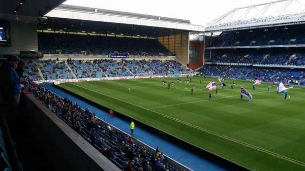 Ibrox Stadium, section: Sandy Jardine Rear, row: LB, seat: 034