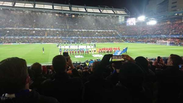 Stamford Bridge, section: West Stand Lower, row: 22, seat: 131