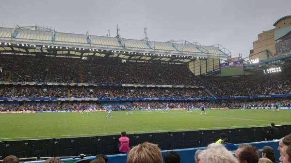Stamford Bridge, section: West Stand Lower, row: 6, seat: 6
