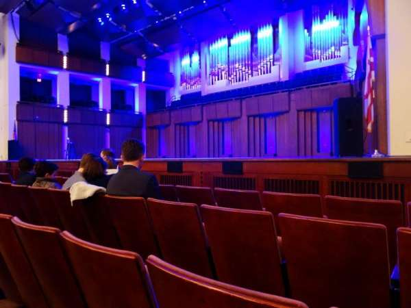 The Kennedy Center Concert Hall, section: Orchestra, row: D, seat: 22 and 24