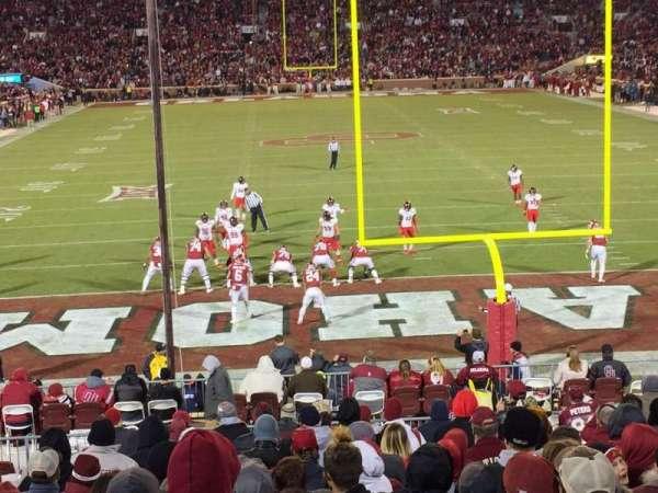 Gaylord Memorial Stadium, section: 44, row: B, seat: 20