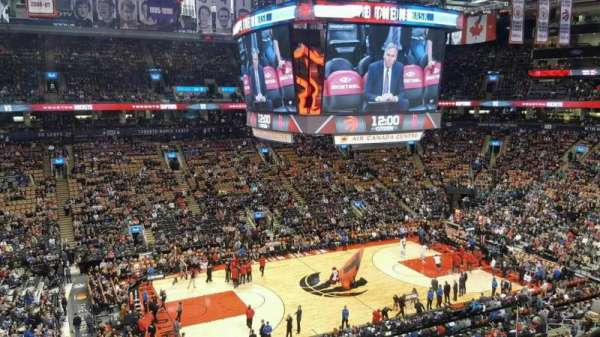 Scotiabank Arena, section: 323, row: 3, seat: 2