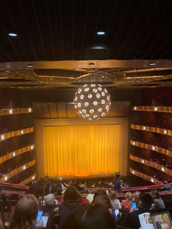 David H. Koch Theater, section: Fourth Ring, row: J, seat: 103