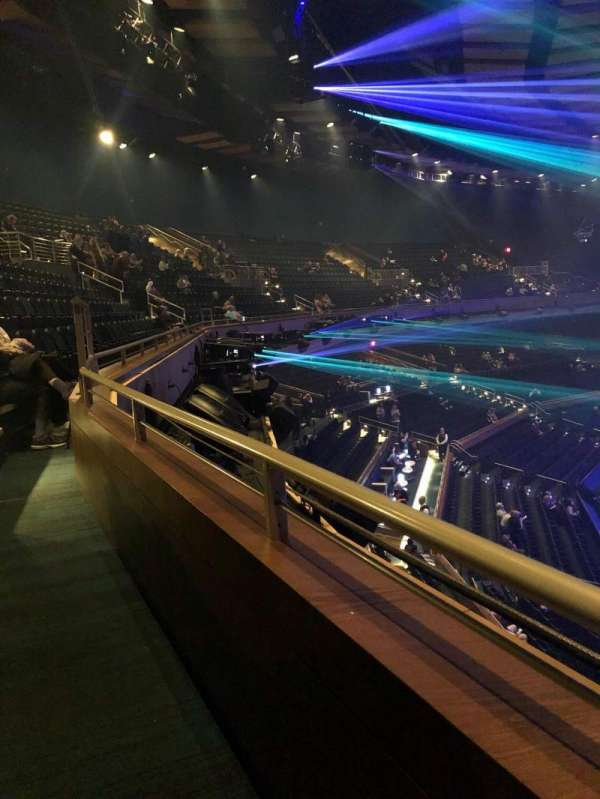 Park Theater at Park MGM, section: 402, row: A, seat: 18