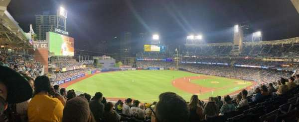 PETCO Park, section: 216, row: 8, seat: 17