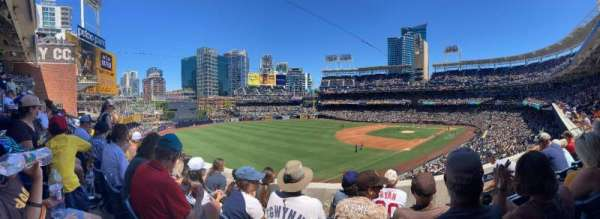 PETCO Park, section: 220, row: 4, seat: 18