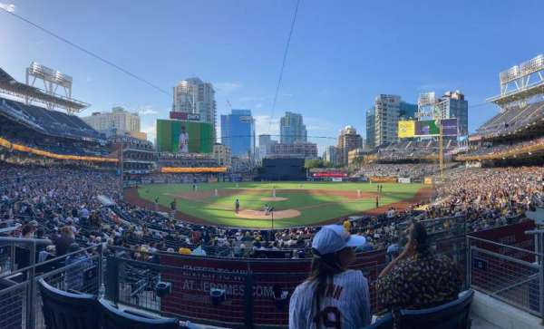 PETCO Park, section: G, row: 3, seat: 3