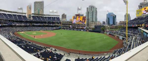 PETCO Park, section: 217, row: 1, seat: 15