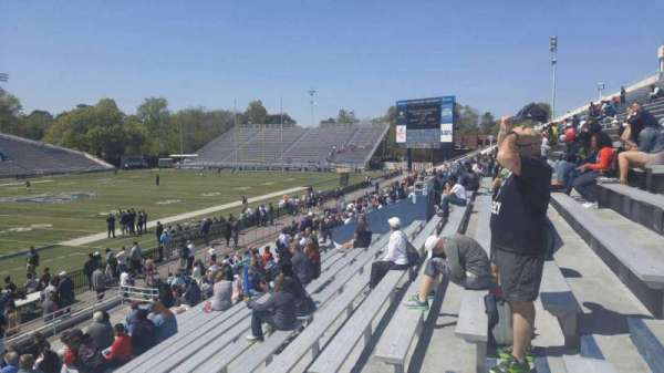 Foreman Field, section: 122, row: 10, seat: last