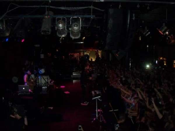 Paradise Rock Club, section: Balcony, row: GA