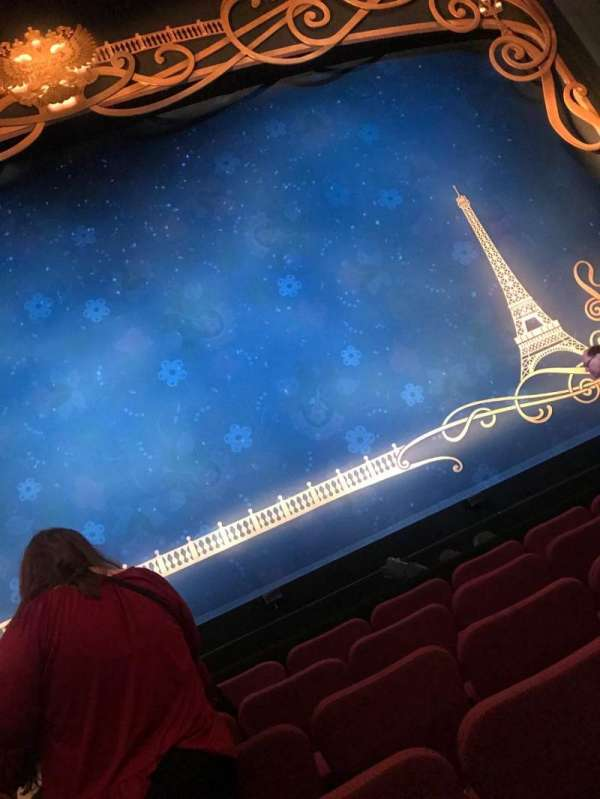 Broadhurst Theatre, section: Orchestra C, row: F, seat: 107