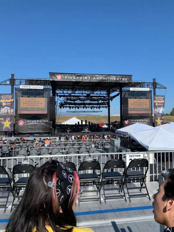 FivePoint Amphitheater, section: Terrace 304, row: 2, seat: 52-53