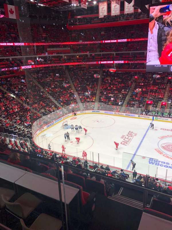 Little Caesars Arena, section: M11, row: 1, seat: 15