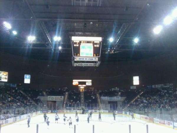 Pensacola Bay Center, section: 109, row: G, seat: 4