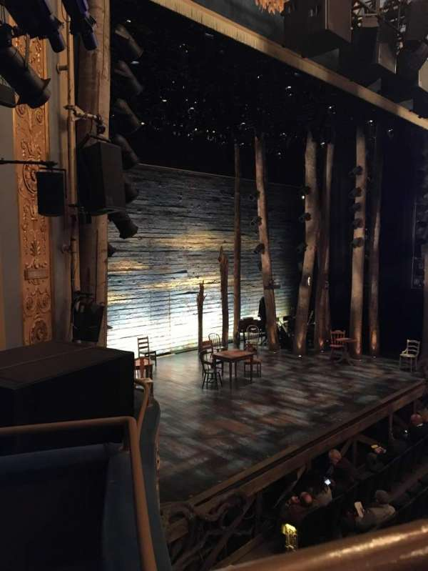 Gerald Schoenfeld Theatre, section: Box F, seat: 1