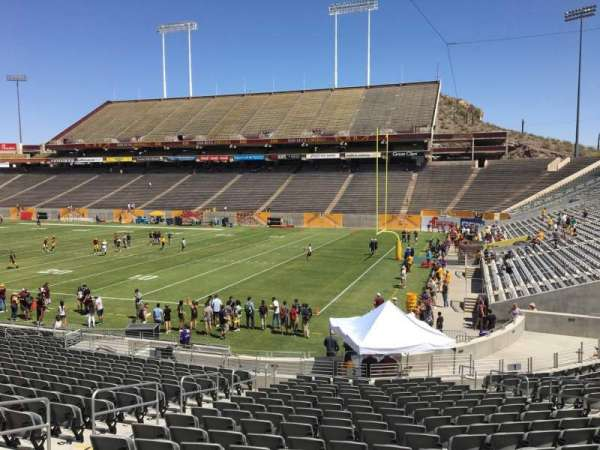 Sun Devil Stadium, section: 2, row: 25, seat: 12