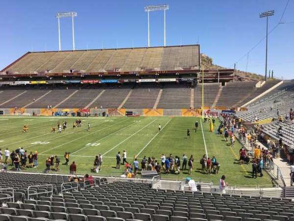 Sun Devil Stadium, section: 3, row: 25, seat: 12