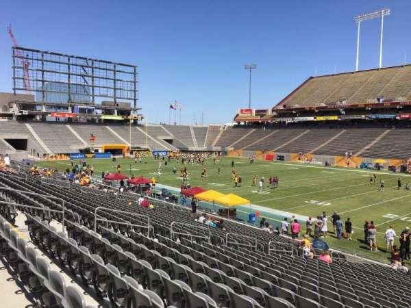 Sun Devil Stadium, section: 4, row: 25, seat: 12