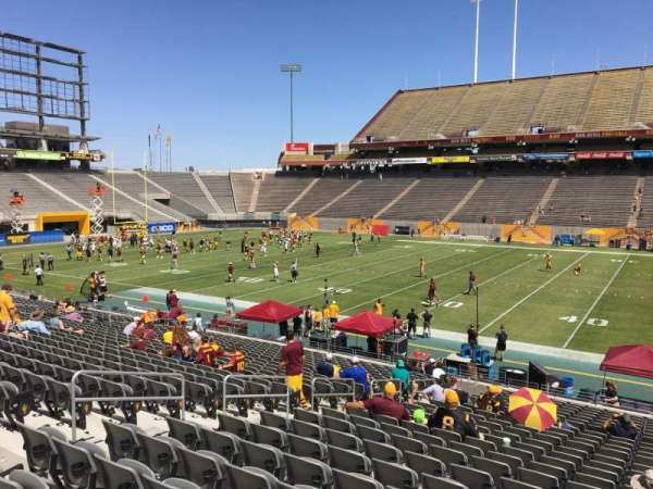 Sun Devil Stadium, section: 6, row: 25, seat: 12