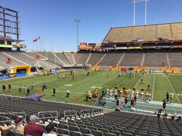 Sun Devil Stadium, section: 8, row: 25, seat: 12