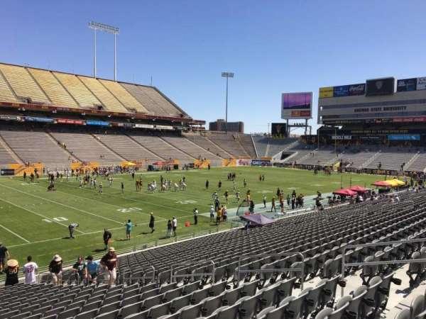 Sun Devil Stadium, section: 11, row: 25, seat: 12