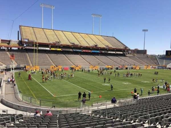 Sun Devil Stadium, section: 12, row: 25, seat: 12