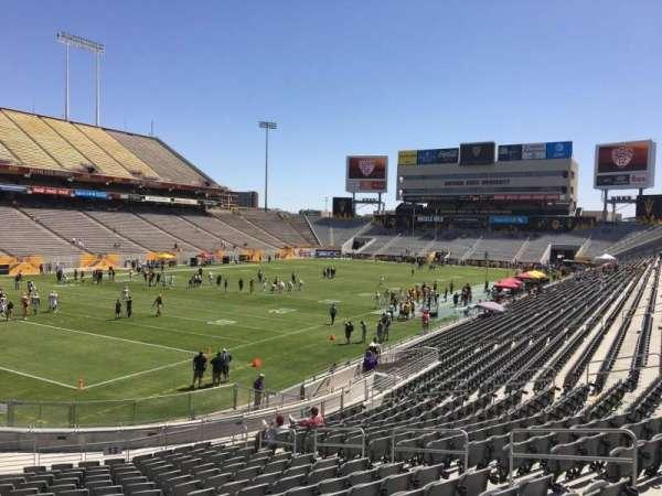 Sun Devil Stadium, section: 13, row: 25, seat: 12