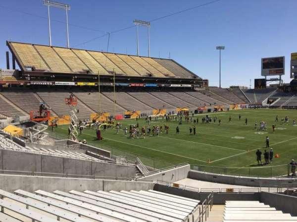 Sun Devil Stadium, section: 14, row: 25, seat: 10