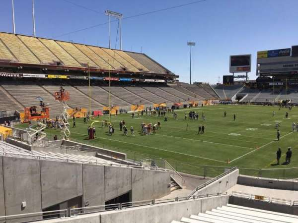Sun Devil Stadium, section: 15, row: 25, seat: 12