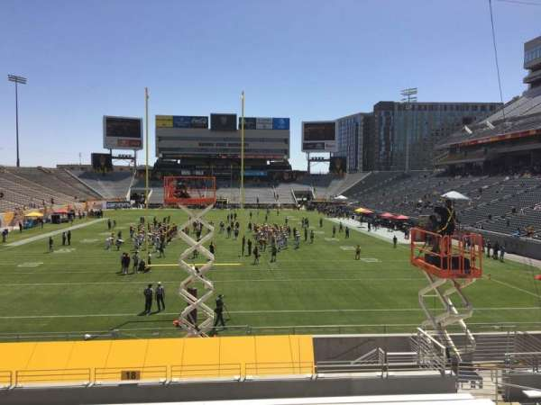 Sun Devil Stadium, section: 18, row: 25, seat: 12