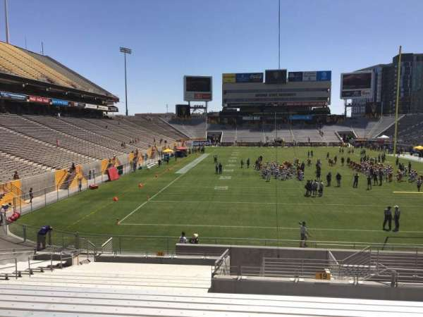 Sun Devil Stadium, section: 19, row: 25, seat: 12