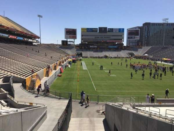 Sun Devil Stadium, section: 20, row: 25, seat: 12