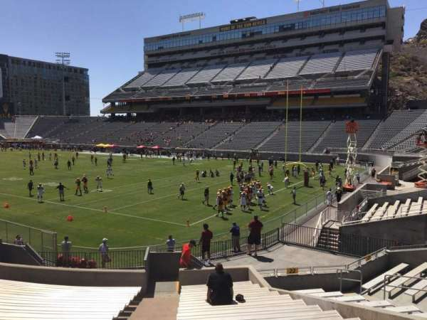 Sun Devil Stadium, section: 23, row: 25, seat: 9