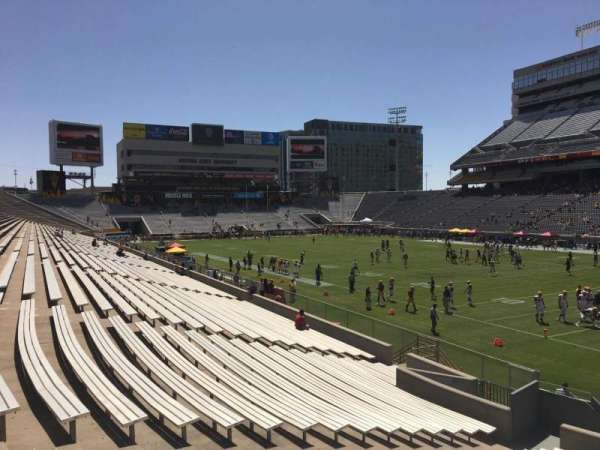 Sun Devil Stadium, section: 24, row: 25, seat: 12