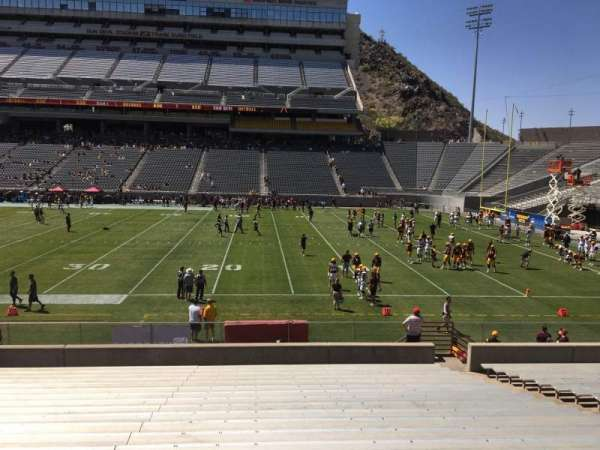 Sun Devil Stadium, section: 28, row: 25, seat: 12