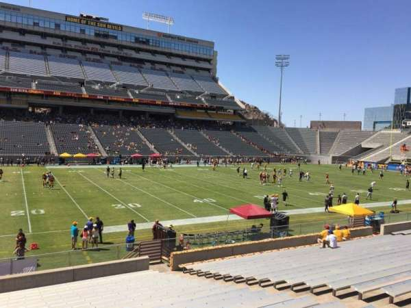 Sun Devil Stadium, section: 32, row: 25, seat: 12