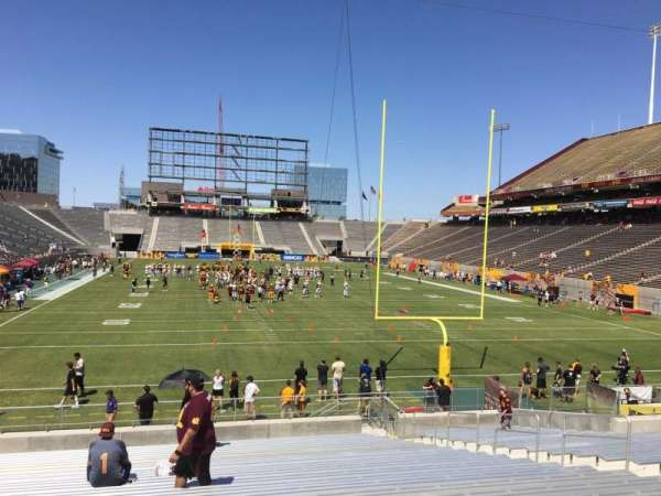 Sun Devil Stadium, section: 42, row: 25, seat: 12