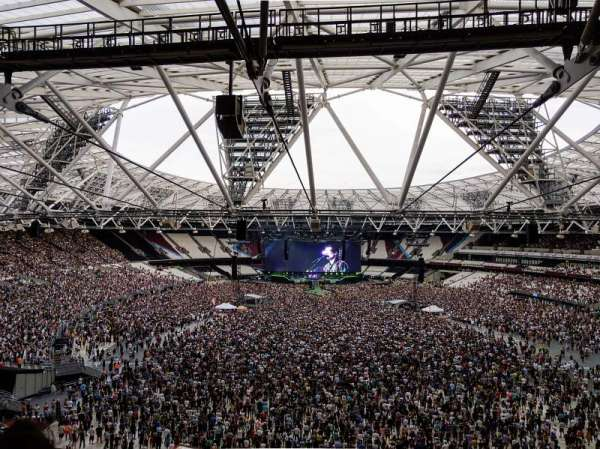 London Stadium, section: 249, row: 58, seat: 21