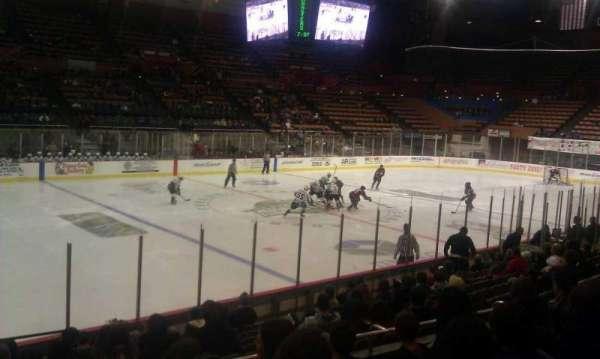Selland Arena, section: 15, row: E, seat: 23