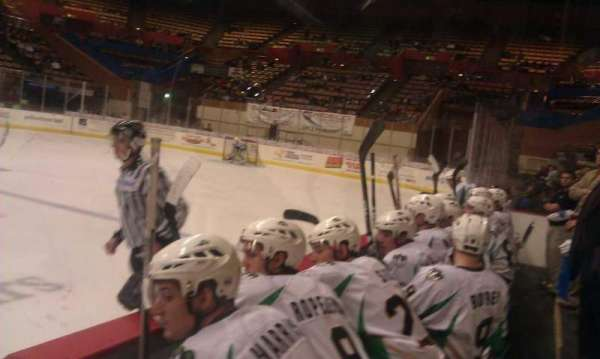 Selland Arena, section: Best Seats in the house
